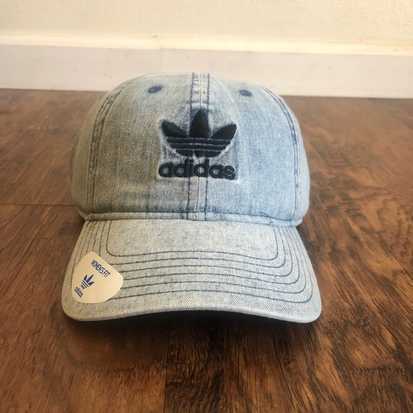 6def72f6 adidas Accessories | Brand New Acid Washed Jean Baseball Cap | Poshmark